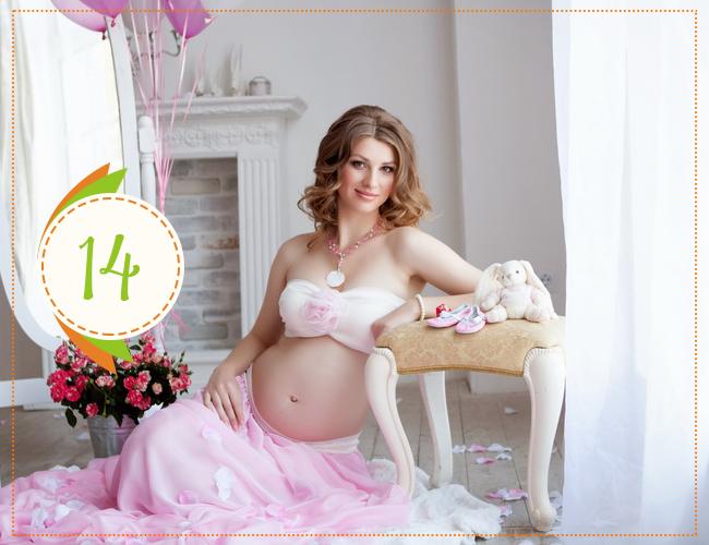 Четырнадцатая неделя беременности