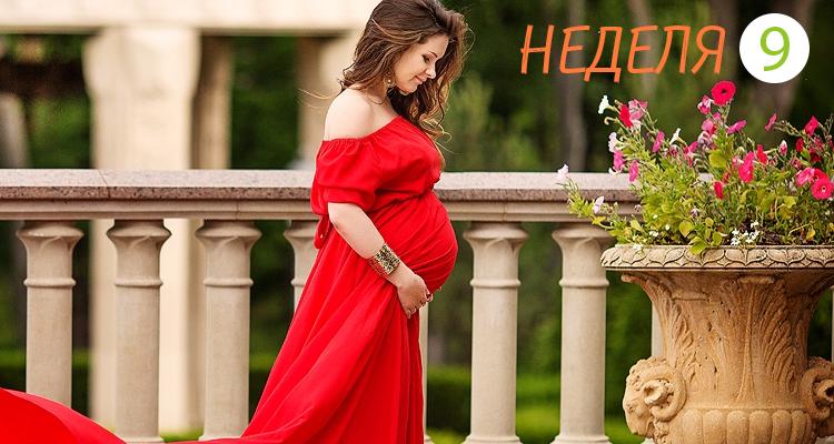 девятая неделя беременности