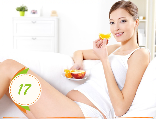 питание на 17 неделе беремености