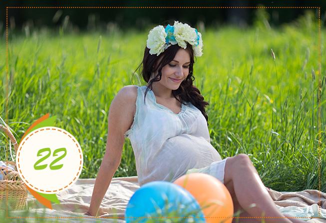 Двадцать вторая неделя беременности