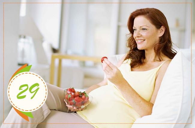 питание на 29 неделе беременности