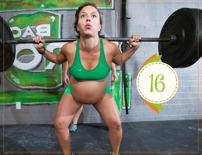 шестнадцатая неделя беременности
