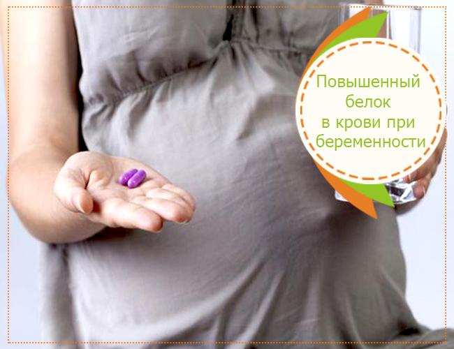 Повышенный белок в крови при беременности