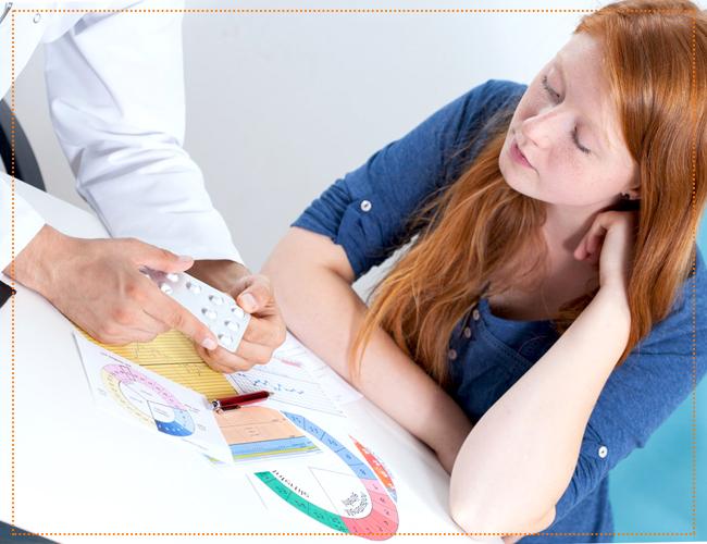 Предохранение от нежелательной беременности в виде таблеток или комбинированных оральных контрацептивов