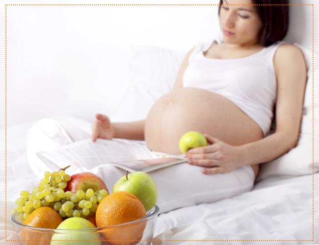 питание на 43 недели беременности