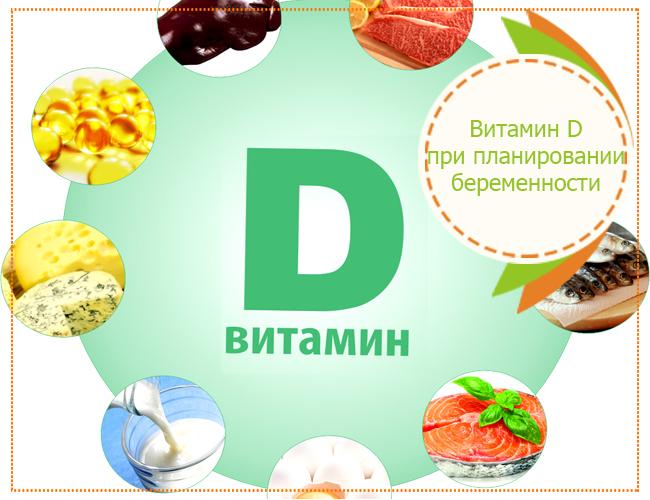 витамин д при планировании беременности