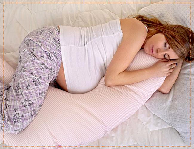 позы для сна во время беременности