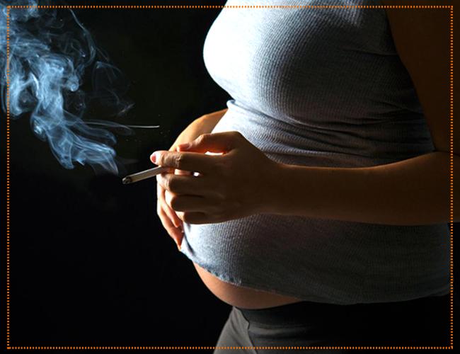 как бросить курить беременной женщине