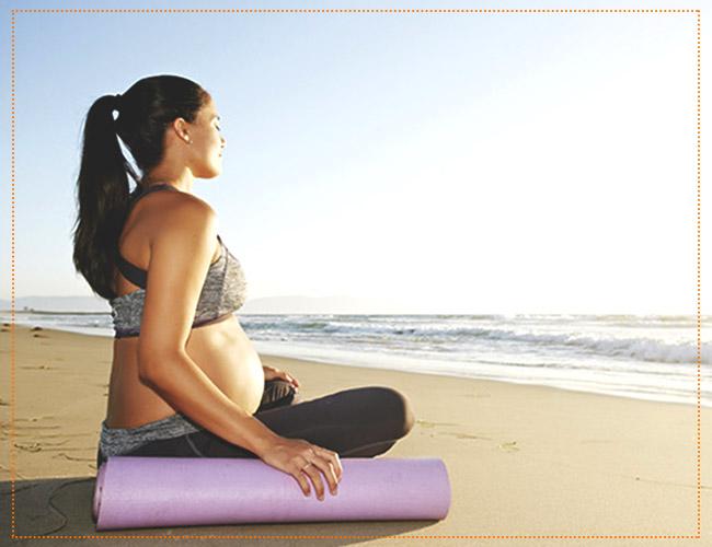 Йога для беременных во 2 триместре