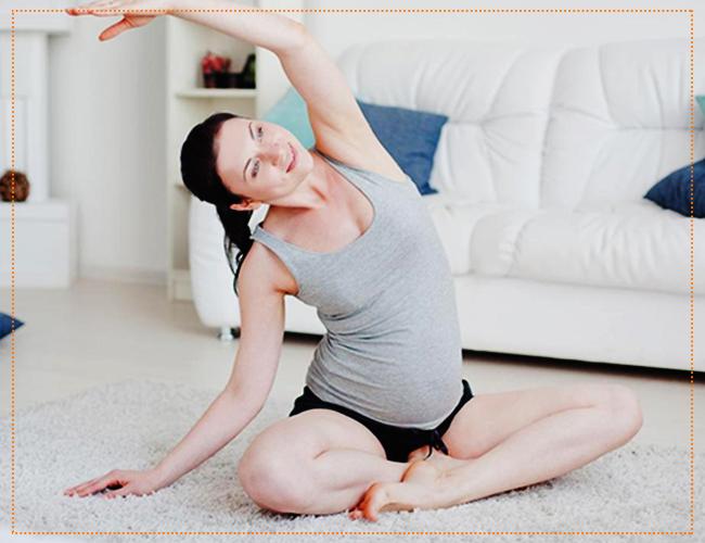 йога на третьем триместре